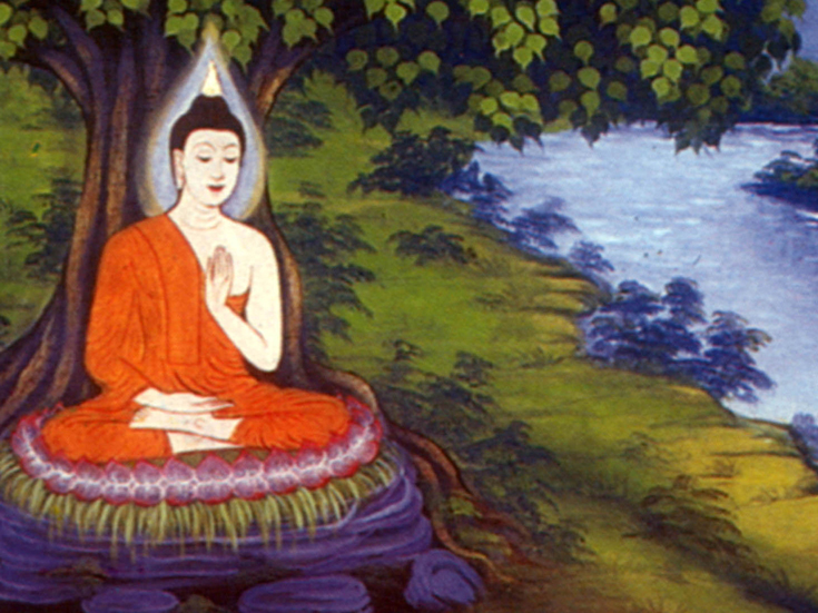 A Protrait of the Buddha