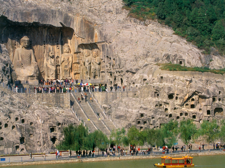 The Longmen Grottoes And Their Carved Statues, Henan province, China