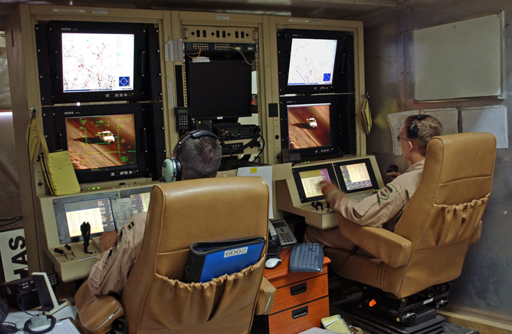 Predator crew operate US drones from Creech Air Force Base