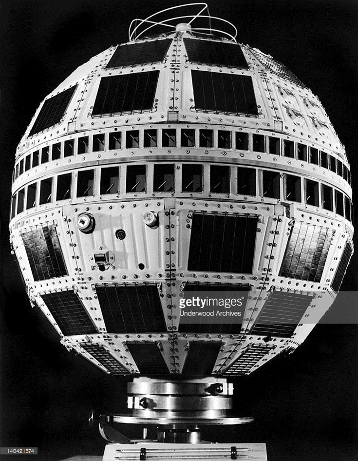 The TELSTAR II communications satellite