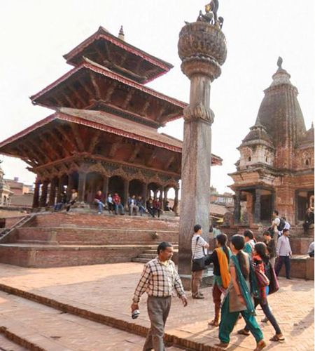 Nepal 's Historic Site before the earthquake photo