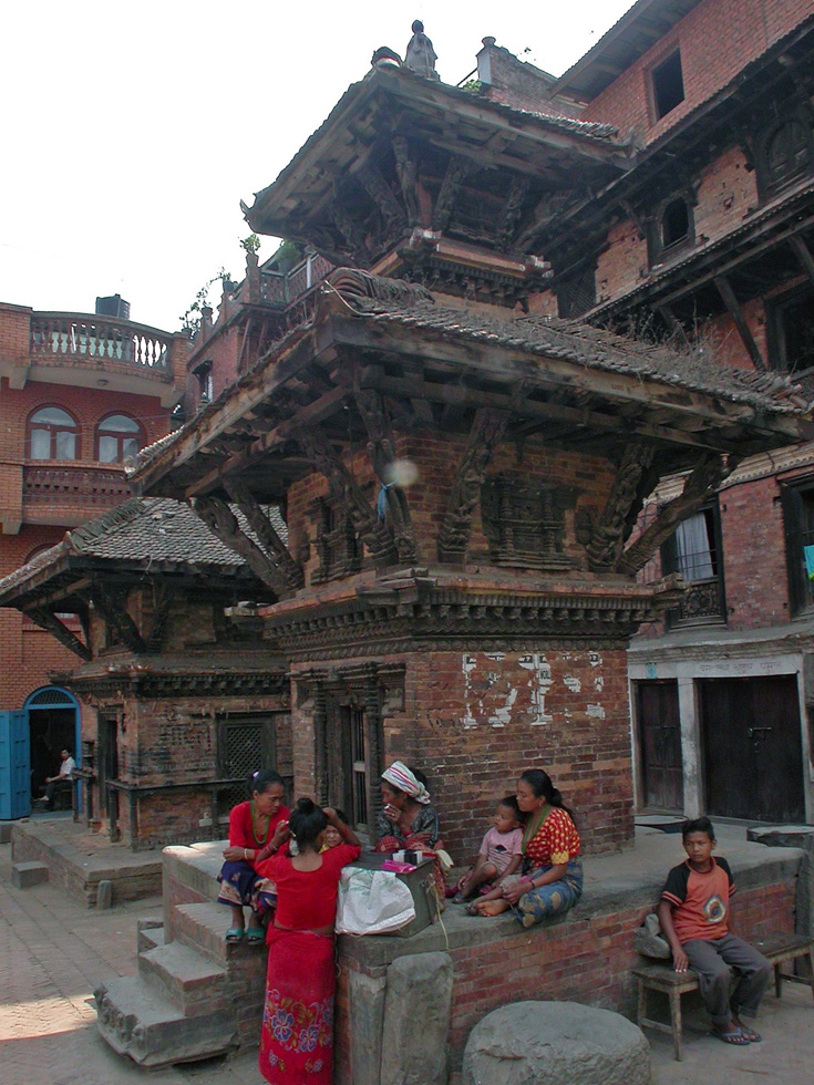 A Temple at Bhaktapur Durbar Square