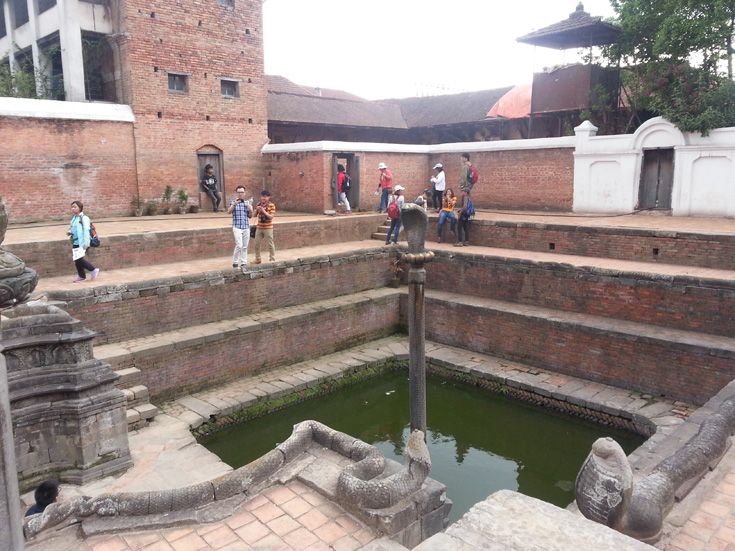 Royal Bath (Naga Pokhari)