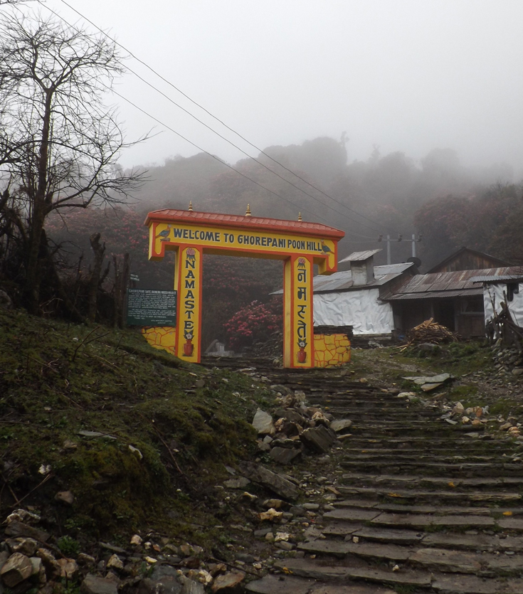 Welcome to Ghorepani Poon Hill Trekking Gate