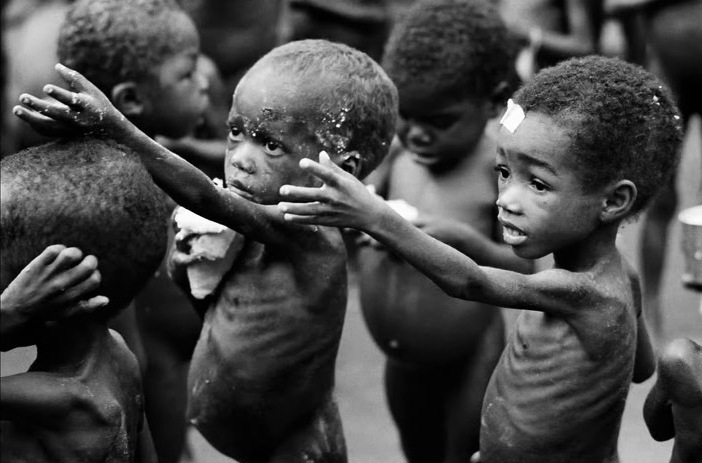Starving children in kenya