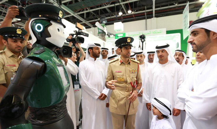 Dubai Police will introduce its first robot police officer on May 24, 2017