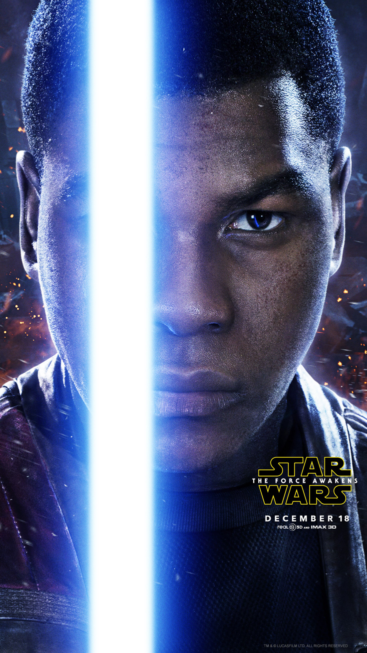 John Boyega Finn - Star Wars: The Force Awakens