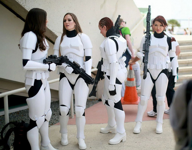 Star Wars - Stormtrooper Girls