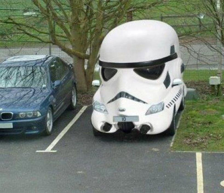 Star Wars - Stormtrooper Car