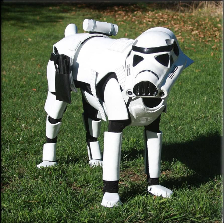 Star Wars - Stormtrooper Dog