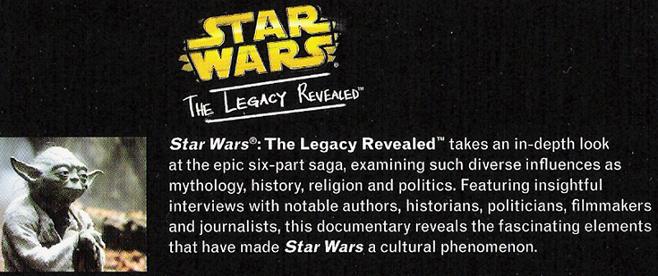 Star Wars - The Legacy Revealed