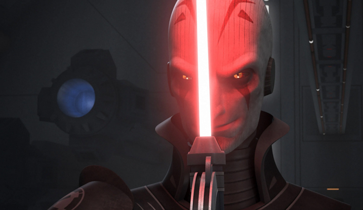 The Grand Inquisitor from Star Wars: Rebels