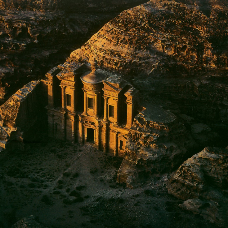 Jordan Ma'an Region Petra Temple Of Ed Deir
