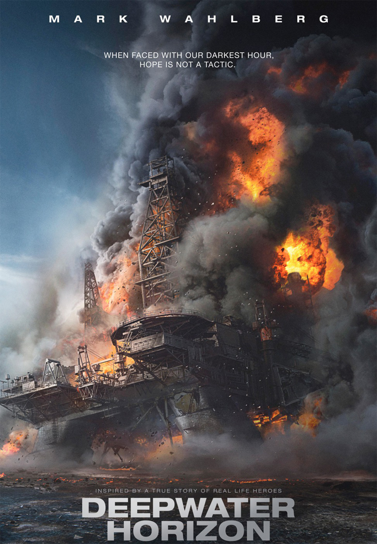 Deepwater Horizon Explosion Movie (2016)